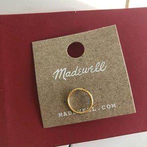 NWT madewell single earrings in gold